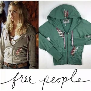 "Free People ""Ribbon Hoodie"" Worn by Rose Tyler"
